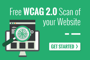 Free WCAG 2.0 Scan of your website
